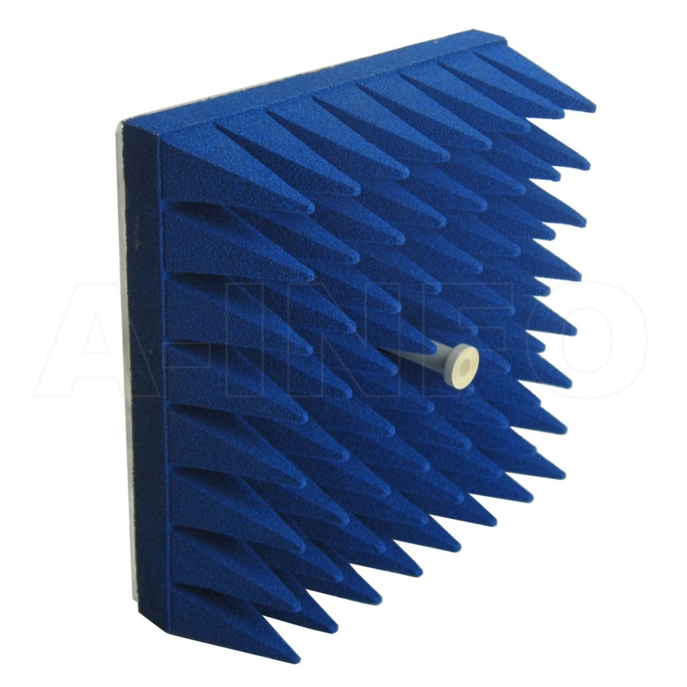 Corrugated Feed Horn Antennas with Waveguide and Coaxial Interface, Equipped with Absorber