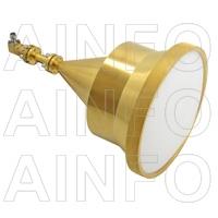 Spot-Focusing Lens Horn Antenna