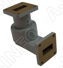 Single Channel Waveguide Rotary Joint- L Type