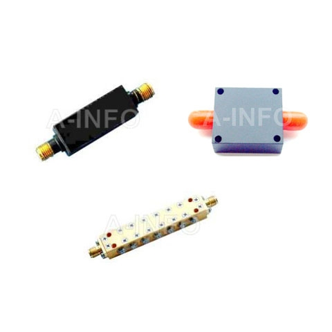 Coaxial-Waveguide Band Pass Filter