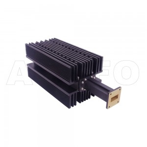 112WHPL1500 WR112 Waveguide High Power Load 7.05-10GHz with Rectangular Waveguide Interface
