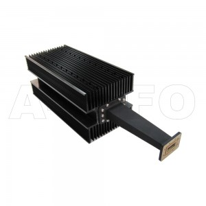 112WHPL3000 WR112 Waveguide High Power Load 7.05-10GHz with Rectangular Waveguide Interface