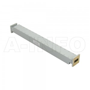112WPFA-50 WR112 Waveguide Low Power Precision Fixed Attenuator 7.05-10GHz with Two Rectangular Waveguide Interfaces
