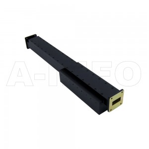 112WPFA425-40 WR112 Waveguide Medium Power Precision Fixed Attenuator 7.05-10GHz with Two Rectangular Waveguide Interfaces