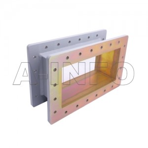 1150WSPA14 WR1150 Wavelength 1/4 Spacer(Shim) 0.64-0.96GHz with Rectangular Waveguide Interfaces