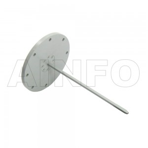 12EWG Open Ended Waveguide Probe 60-90GHz 6dB Gain Rectangular Waveguide Interface