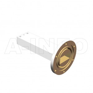 137WPL_AE WR137 Waveguide Precisoin Load 5.85-8.2GHz with Rectangular Waveguide Interface