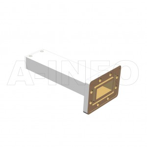 137WPL_DM WR137 Waveguide Precisoin Load 5.85-8.2GHz with Rectangular Waveguide Interface