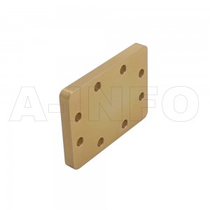 137WS WR137 Waveguide Short Plates 5.85-8.2GHz with Rectangular Waveguide Interface