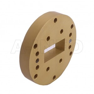 137WSPA14_P0 WR137 Wavelength 1/4 Spacer(Shim) 5.85-8.2GHz with Rectangular Waveguide Interfaces