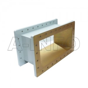 1500WSPA14 WR1500 Wavelength 1/4 Spacer(Shim) 0.49-0.75GHz with Rectangular Waveguide Interfaces
