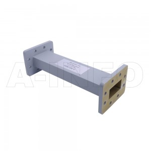 159WAL-200 WR159 Rectangular Straight Waveguide 4.9-7.05GHz with Two Rectangular Waveguide Interfaces