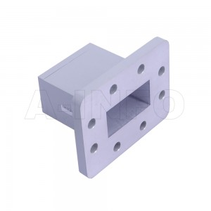 159WECAS Endlaunch Rectangular Waveguide to Coaxial Adapter 4.9-7.05GHz WR159 to SMA Female