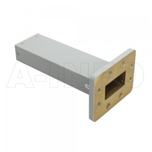 159WMPL30 WR159 Waveguide Low-Medium Power Load 4.9-7.05GHz with Rectangular Waveguide Interface