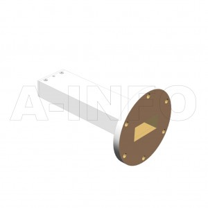 159WPL_AP WR159 Waveguide Precisoin Load 4.9-7.05GHz with Rectangular Waveguide Interface