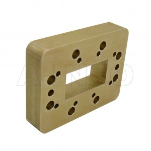 159WSPA14 WR159 Wavelength 1/4 Spacer(Shim) 4.9-7.05GHz with Rectangular Waveguide Interfaces