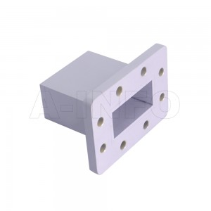 187WECAS Endlaunch Rectangular Waveguide to Coaxial Adapter 3.95-5.85GHz WR187 to SMA Female