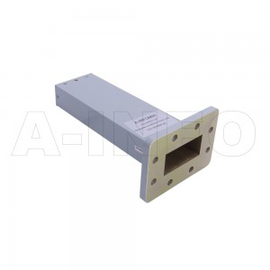 187WMPL40 WR187 Waveguide Low-Medium Power Load 3.95-5.85GHz with Rectangular Waveguide Interface