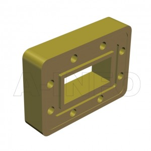 90WSPA-20_Cu WR90 Customized Spacer(Shim) 8.2-12.4GHz with Rectangular Waveguide Interfaces