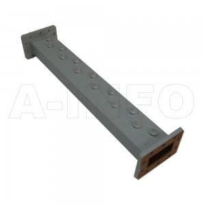 229LB-BP-3820-3860 WR229 Waveguide Band Pass Filter 3.3-4.9Ghz with Two Rectangular Waveguide Interfaces