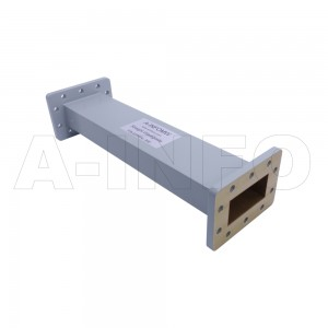 229WAL-300 WR229 Rectangular Straight Waveguide 3.3-4.9GHz with Two Rectangular Waveguide Interfaces