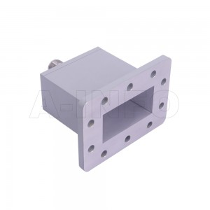 229WECAN Endlaunch Rectangular Waveguide to Coaxial Adapter 3.3-4.9GHz WR229 to N Type Female
