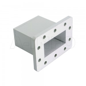 229WECAS Endlaunch Rectangular Waveguide to Coaxial Adapter 3.3-4.9GHz WR229 to SMA Female