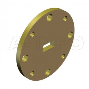 22WSPA-2.0_Cu WR22 Customized Spacer(Shim) 33-50GHz with Rectangular Waveguide Interfaces