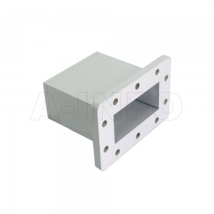 284WECAS Endlaunch Rectangular Waveguide to Coaxial Adapter 2.6-3.95GHz WR284 to SMA Female
