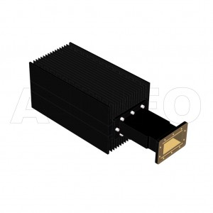 284WHPL2400_AE WR284 Waveguide High Power Load 2.6-3.95GHz with Rectangular Waveguide Interface