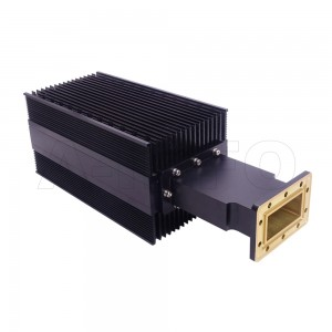 284WHPL2400_DM WR284 Waveguide High Power Load 2.6-3.95GHz with Rectangular Waveguide Interface