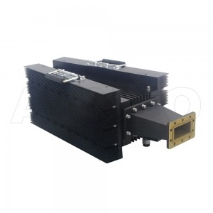 284WHPL3500_DM WR284 Waveguide High Power Load 2.6-3.95GHz with Rectangular Waveguide Interface