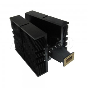 284WHPL5000 WR284 Waveguide High Power Load 2.6-3.95GHz with Rectangular Waveguide Interface