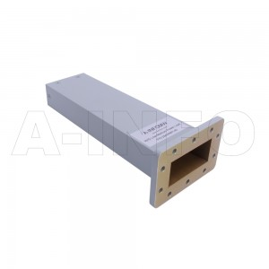 284WMPL45 WR284 Waveguide Low-Medium Power Load 2.6-3.95GHz with Rectangular Waveguide Interface
