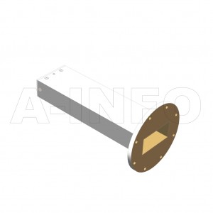 284WPL_AP WR284 Waveguide Precisoin Load 2.6-3.95GHz with Rectangular Waveguide Interface