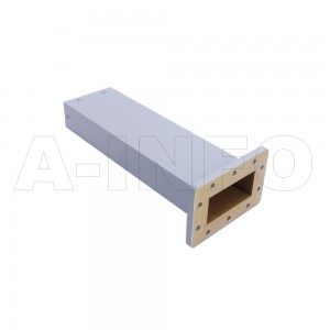 284WPL WR284 Waveguide Precisoin Load 2.6-3.95GHz with Rectangular Waveguide Interface