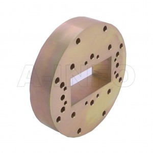 284WSPA14_PB WR284 Wavelength 1/4 Spacer(Shim) 2.6-3.95GHz with Rectangular Waveguide Interfaces