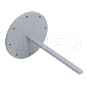 28EWG Open Ended Waveguide Probe 26.5-40GHz 6dB Gain Rectangular Waveguide Interface