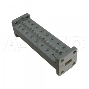 28LB-BP-28600-29800 WR28 Waveguide Band Pass Filter 26.5-40Ghz with Two Rectangular Waveguide Interfaces
