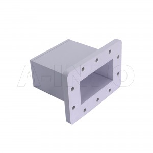 340WECAS Endlaunch Rectangular Waveguide to Coaxial Adapter 2.2-3.3GHz WR340 to SMA Female