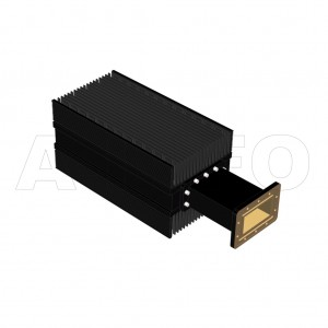 340WHPL2500_DM WR340 Waveguide High Power Load 2.2-3.3GHz with Rectangular Waveguide Interface