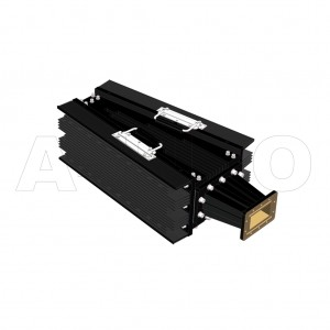 340WHPL4000_DM WR340 Waveguide High Power Load 2.2-3.3GHz with Rectangular Waveguide Interface