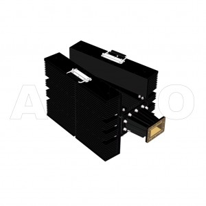 340WHPL5500_DM WR340 Waveguide High Power Load 2.2-3.3GHz with Rectangular Waveguide Interface