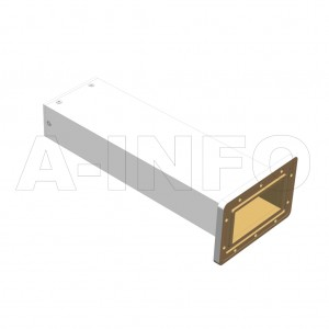 340WMPL60 WR340 Waveguide Low-Medium Power Load 2.2-3.3GHz with Rectangular Waveguide Interface