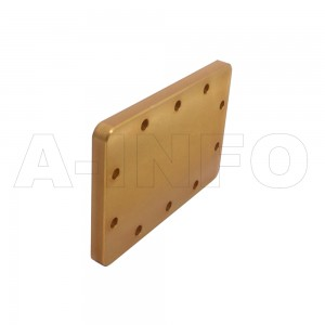 340WS WR340 Waveguide Short Plates 2.2-3.3GHz with Rectangular Waveguide Interface