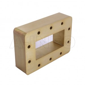 340WSPA14 WR340 Wavelength 1/4 Spacer(Shim) 2.2-3.3GHz with Rectangular Waveguide Interfaces