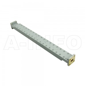 34WPFA-6_Cu WR34 Waveguide Low Power Precision Fixed Attenuator 22-33GHz with Two Rectangular Waveguide Interfaces