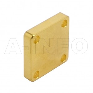 34WS_Cu WR34 Waveguide Short Plates 22-33GHz with Rectangular Waveguide Interface