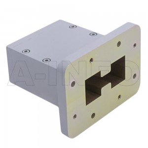 350DRWECAS Endlaunch Double Ridge Waveguide to Coaxial Adapter 3.5-8.2GHz WRD350 to SMA Female