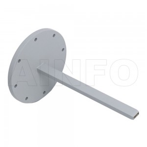 42EWG Open Ended Waveguide Probe 18-26.5GHz 5dB Gain Rectangular Waveguide Interface